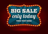 Neon advertising sign - Big Sale