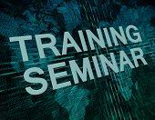 Training Seminar Technology Background