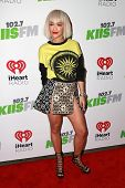 LOS ANGELES - DEC 5:  Rita Ora at the KIIS FM's Jingle Ball 2014 at the Staples Center on December 5, 2014 in Los Angeles, CA