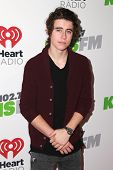 LOS ANGELES - DEC 5:  Nash Grier at the KIIS FM's Jingle Ball 2014 at the Staples Center on December 5, 2014 in Los Angeles, CA