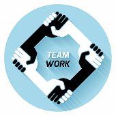 Team Work. Vector