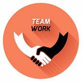 Best Deal. Team Work. Vector