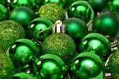 Christmas New Year Decor Green Balls for Christmas Tree