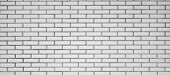 Greyscale Brick wall pattern vector