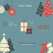 Holiday Pattern / Wallpaper