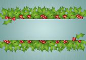 Holly Decorations For Christmas