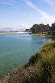 landscape of the coast of Galicia