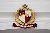 Official Coat Of Arms Of The President Of Singapore