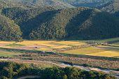 General View Of Korean Countryside