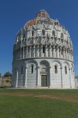 The Baptistery In Pisa (italy)