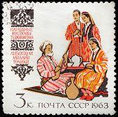 Tajik Folk Dress