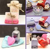 Collage Of Scented Soaps
