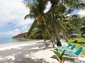 Exotic Seychelles Beach