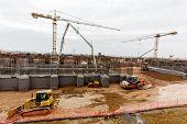 Waste Plant Construction Site