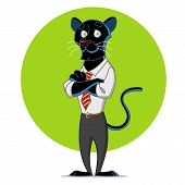 picture of panther  - Office panther - JPG