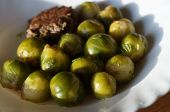 foto of brussels sprouts  - Brussels sprout and meat cutlet dish - JPG