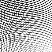 foto of grating  - Black and white abstract grid grating pattern - JPG