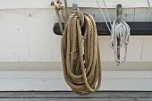 Rigging Of A Sailing Ship