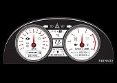 picture of speedometer  - automotive icon car dashboard vehicle speedometer sign - JPG