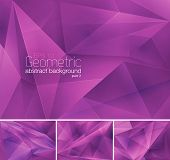 stock photo of stiff  - Geometric abstract background series - JPG