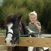 Children With Pony