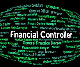 picture of controller  - Financial Controller Representing Job Ceo And Investment - JPG