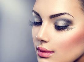 picture of dark-skin  - Beautiful Fashion Luxury Makeup - JPG