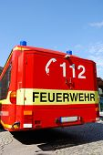 Fire Engine Emergency Number