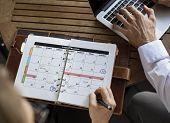 Personal Organizer Management Schedule Planning poster