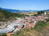 Постер, плакат: Salinas De Anana In Basque Country Spain