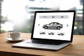 Car Rental Salesman Automobile Vehicles Car Rentals Transportation poster