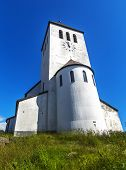 Svolvaer Church, Svolvar, Norway. poster