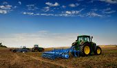 stock photo of sugar industry  - The Tractor  - JPG