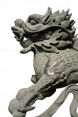 carved oriental dragon