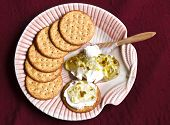 Cream Cheese And Crackers