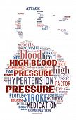 Conceptual of hypertension as a bomb