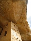 Sun Tower Cliff Palace Mesa Verde