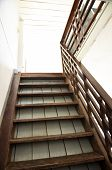 Brown Old Wood Ladder Home Indoor