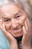 Senior Woman Depressed