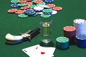 pic of derringer  - poker game - JPG