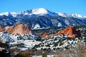 Pikes Peak in Colorado Springs