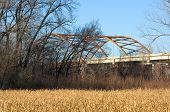 Highway 77 Bridge And Fen In Eagan Minnesota