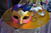 Carnaval Masks On Table