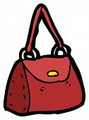 handbag cartoon (raster version)