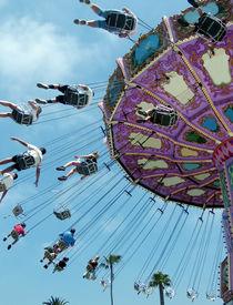 foto of amusement park rides  - amusement park ride - JPG