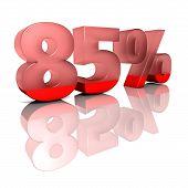 Eighty-five percent