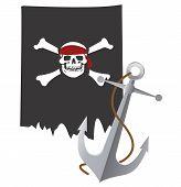 Vlag van de piraat