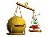 Zodiac: Emoticon 3d Libra