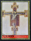 collection peace in the world shows the crucifixion of Christ by the Master gave St. Francis
