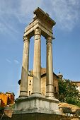 Temple Of Apollo Sosiano - Ruins By Teatro Di Marcello, Rome - Italy 2
